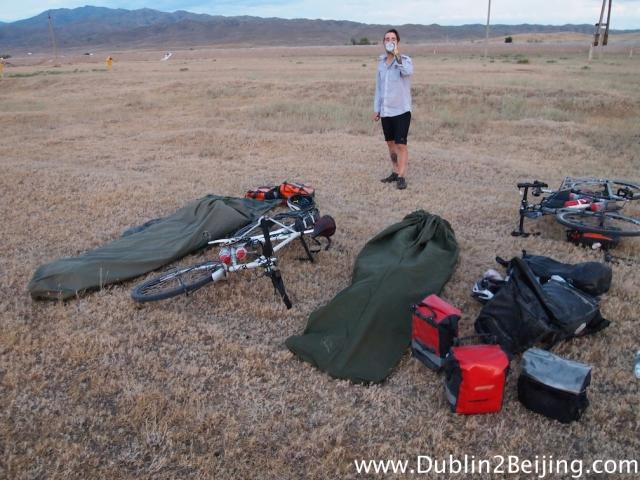 No more tents, just bivi bags