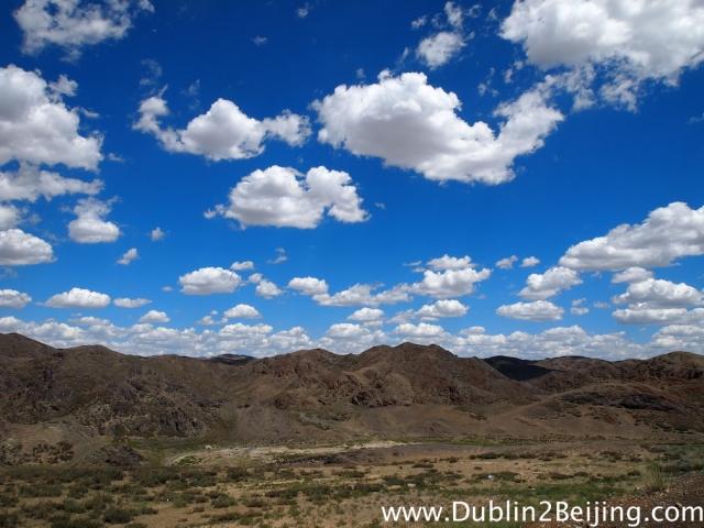Nice clouds, nice scenery