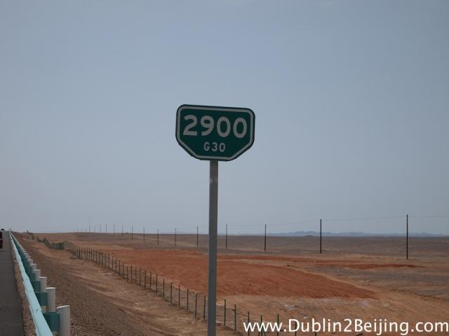 2900km to Beijing