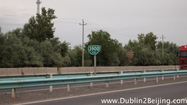 Just 3900km to Beijing