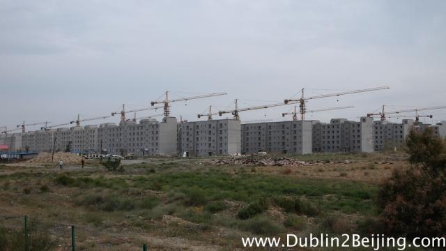Crazy China construction