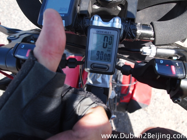 I crossed the 9000km mark a couple of days ago. Cool!
